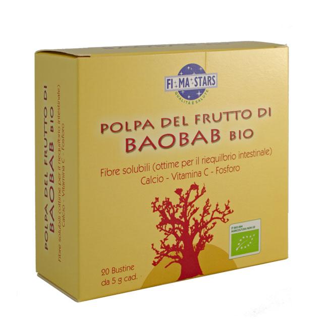 Polpa di Baobab (bustine monodose)