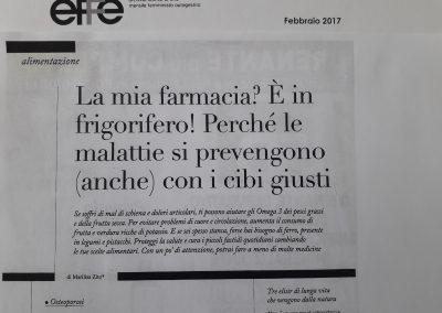 Effe, Febbraio 2017